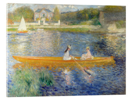 Acrylic print  The Seine at Asnieres - Pierre-Auguste Renoir