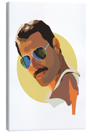 Canvas  Freddie Mercury - Anna McKay