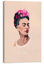 Canvas print  Frida Portrait - Anna McKay