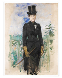 Premium poster  Amazon - Edouard Manet