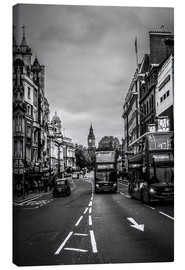 Canvas print  Bus to Oxford Circus