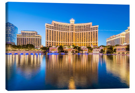 Canvas print  Bellagio casino, Las Vegas