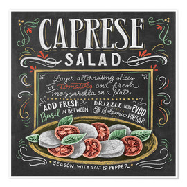 Poster  Caprese Salad - Lily & Val