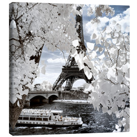 Canvas print  Infrared Shipping in Paris - Philippe HUGONNARD