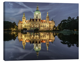 Canvas print  Neues Rathaus - Hannover, Germany - Achim Thomae