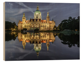 Wood  Neues Rathaus - Hannover, Germany - Achim Thomae