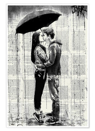 Premium poster  young hearts - Loui Jover