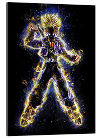 Acrylic print  Future Fighter Trunks - Barrett Biggers
