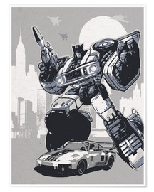Premium poster  Jazz, Transformers - 2ToastDesign