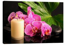 Canvas print  Zen still life with orchids