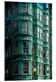 Acrylic print  Columbus Tower, San Francisco