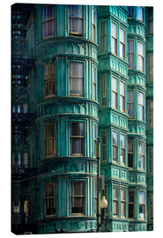 Canvas print  Columbus Tower, San Francisco