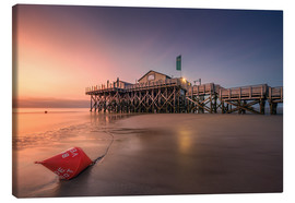 Canvas print  Beach Bar 54 ° Nord - St. Peter-Ording - Dirk Wiemer