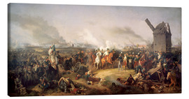 Canvas print  The Battle of Nations, Leipzig 1813 - Peter von Hess