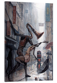 Acrylic print  Life is a dance in the rain - Adrian Borda