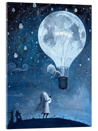 Acrylic print  He gave me the brightest star - Adrian Borda