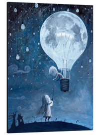 Aluminium print  He gave me the brightest star - Adrian Borda