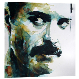 Acrylic print  Freddie Mercury - Paul Lovering Arts