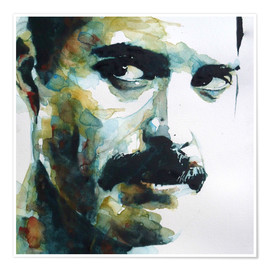 Premium poster  Freddie Mercury - Paul Lovering Arts
