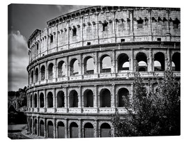 Canvas  ROME Colosseum - Melanie Viola