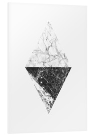 Foam board print  Marble diamond - RNDMS