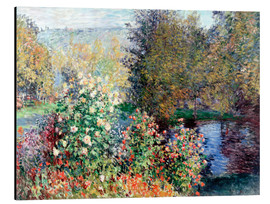 Aluminium print  The corner - Claude Monet