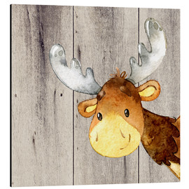 UtArt - 4 Friends - Forest Animals - Moose