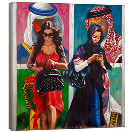 Canvas print  Arab Spring (2) - Ali Hassoun
