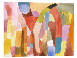 Foam board print  Movement of Vaulted Chambers - Paul Klee