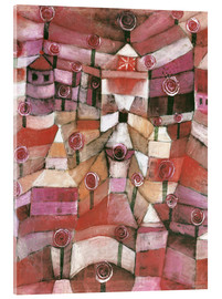 Acrylic glass  Rose garden - Paul Klee