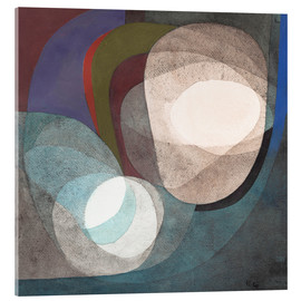 Acrylic print  Buoyant Forces - Paul Klee