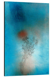Aluminium print  The plant and its enemy - Paul Klee