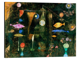 Aluminium print  Fish magic - Paul Klee