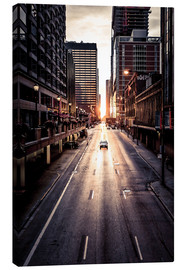 Canvas print  Morning in Chicago - Sören Bartosch