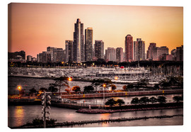 Canvas print  skyline Chicago - Sören Bartosch