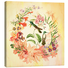 Canvas print  Hummingbird II - Mandy Reinmuth