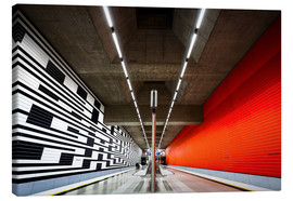 Canvas  Subway Munich - Oberwiesenfeld - MUXPIX