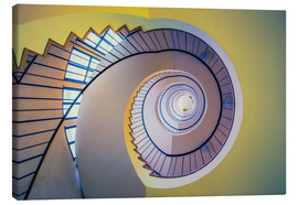 Canvas  Staircase in crayon - MUXPIX