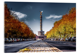 Acrylic print  Victory Column Berlin during Fall - Sören Bartosch