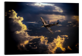 Acrylic print  The Graceful Spitfire - airpowerart