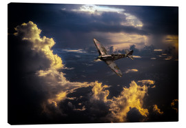 Canvas print  The Graceful Spitfire - airpowerart