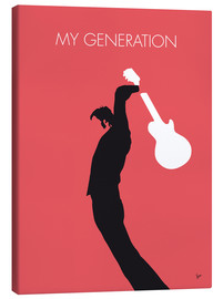 Canvas  No002 MY THE WHO Minimal Music poster - chungkong
