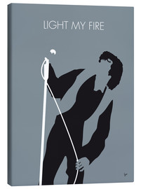 Canvas print  Jim Morrison - Light My Fire - chungkong