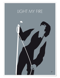 Premium poster  Jim Morrison - Light My Fire - chungkong