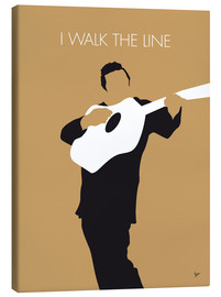 Canvas  Johnny Cash, I walk the line - chungkong