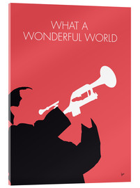 Acrylic print  Louis Armstrong - What A Wonderful World - chungkong