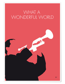 Premium poster  Louis Armstrong - What A Wonderful World - chungkong