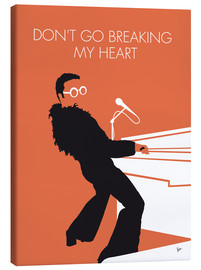 Canvas print  Elton John - Don't Go Breaking My Heart - chungkong
