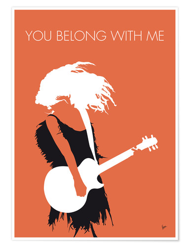 Premium poster Taylor Swift - You Belong With Me