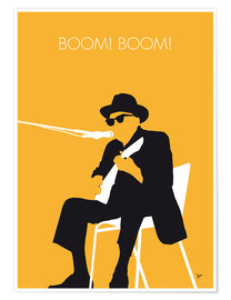 Premium poster  Johnny Lee Hooker - Boom! Boom! - chungkong